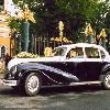 ретро автомобиль    БМВ 3401  черно-белый
