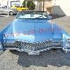 ретро автомобиль    Кадиллак Девиль (Cadillac Devil) кабриолет  голубой