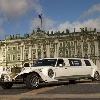 ретро-лимузин   Экскалибур Фантом  белый