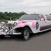 ретро-лимузин   Экскалибур Фантом  розовый