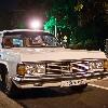 ретро автомобиль    ГАЗ-14  Чайка   белый