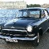 ретро автомобиль    ГАЗ-21  Волга   хамелеон
